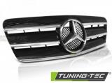Maska šport čierna-chróm Mercedes CLK W208 96-02