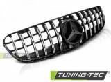 Maska šport lesklá čierna-chróm Mercedes GLC W253 15-
