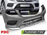 Predný nárazník Šport PDC Mercedes GLE W166 15-