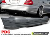 Zadný nárazník Šport PDC Mercedes W211 06/09 Sedan