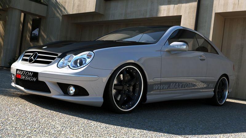 Predný nárazník Mercedes CLK-Klasse W208 Standard-Versionen von 1997 - 2003 Maxtondesign