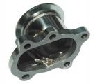 Adaptér na výfukovú časť T25 5-dier. > V-band 63,5 mm (nerez)