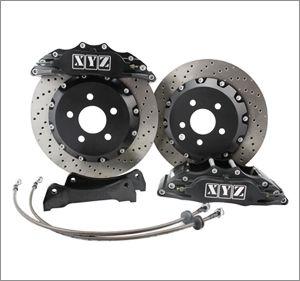 Přední brzdový kit XYZ Racing STREET 355 VOLKSWAGEN BORA 2.3i V5 99-05