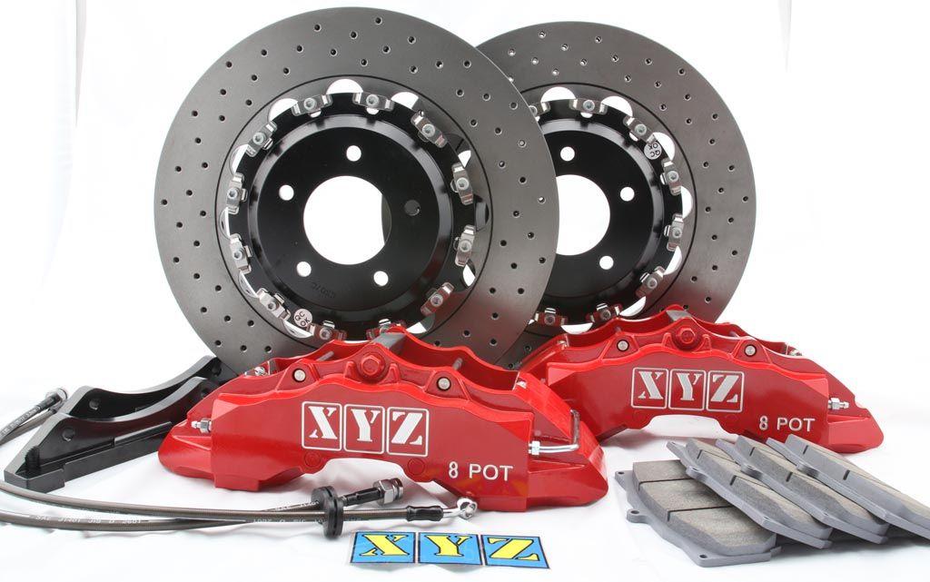 Přední brzdový kit XYZ Racing STREET 380 AUDI S4 B5 97-00