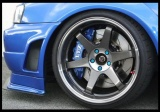 Přední brzdový kit XYZ Racing STREET 380 BMW E 28 M5 85-88