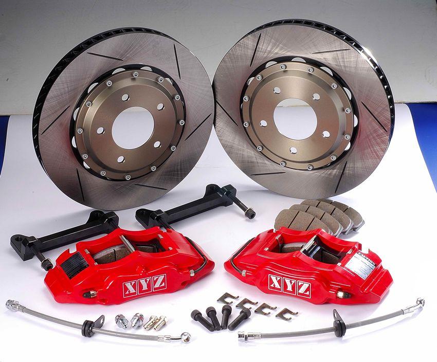 Zadní brzdový kit XYZ Racing STREET 355 MAZDA 6 MPS 02-08