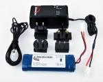 Racelogic batérie 2Ah s nabíjačkou pre DriftBox / PerformanceBox