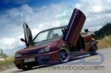 Vertikálne otváranie dverí LSD VW Golf 3 typ 1E Cabrio (09 / 91-)