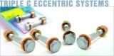 Skrutky na štelování odklonu kolies H & R Triple C priemer 12mm / dĺžka 40,0-48,5mm