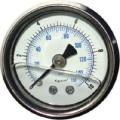 Manometer Ra s glycerínovou náplňou 0-11bar - výstup vzadu