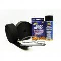 Termo izolačné kit na výfuk Thermotec (2x čierna páska 50mm x 15m, sprej, sťahovačky) - V6 / V8