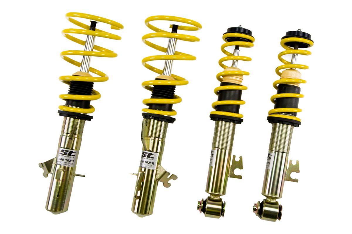 Výškově stavitelný podvozek ST X Seat Ibiza (6K) 10/99-3/02 od 2000 (facelift) ST Suspensions