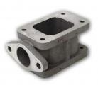 Redukčný adaptér na turbo T3> T3 + wastegate 38mm (oceľ)
