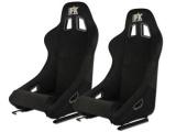 Sportovní sedačky FK Automotive Francisco černé