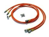 Vedení hydraulické ruční brzdy Hel Performance na Nissan 200SX S13 (89-98)