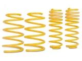 Sportovní pružiny ST suspensions pro Audi 80/90 (89) s poh. předních kol, Sedan/Coupé, r.v. od 09/86 do 08/91, zatížení PN do 950Kg, snížení 40/40mm