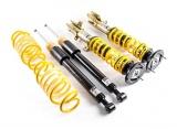 Výškově a tuhostně stavitelný podvozek s unibalovým horním uložením ST Suspensions pro Ford Focus II RS (DA/DB), r.v. od 01/09, se zatížením PN do 1040Kg