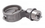 Přetlaková mechanická výfuková klapka 70mm - zavřená - pozitivní tlak (boost)