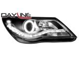 Přední LED světla DayLine-černá Volkswagen Tiguan