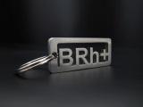 Přívěsek na klíče krevní skupina B RH +
