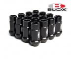 Kolesové racingové matice (štifty) Blox závit M12 x 1.25 - čierne