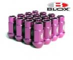 Kolesové racingové matice (štifty) Blox závit M12 x 1.5 - fialové