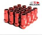 Kolesové racingové matice (štifty) Blox závit M12 x 1.25 - červené