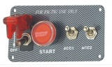 Štartovací panel carbon look - typ SEP3014