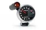 Prídavný budík Autometer Šport Comp II - tachometer (125mm) sa shift Light - čierny / strieborný