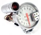 Prídavný budík Type-R - tachometer (125mm) sa shift Light - biely / strieborný
