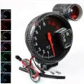 Prídavný budík Type-R - tachometer (125mm) sa shift Light - čierny / carbon look