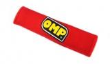 Návleky na bezpečnostné pásy OMP červené