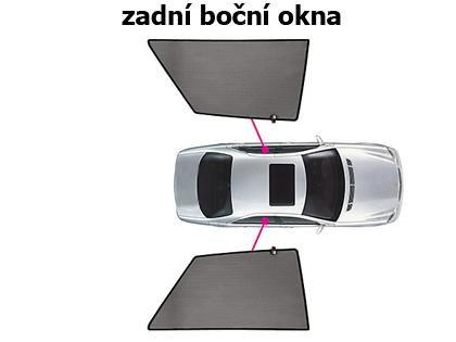 Sluneční clony CarShades BMW X3, 5-dvéř. Privacy Shades