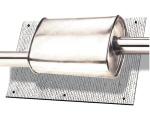 Tepelná izolace na tlumič / katalyzátor Thermotec - kit 101,6 x 60,9cm