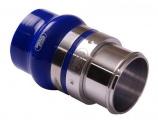 Alu - silikon spojka Samco 76mm