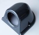 Držák na palubovku pro 1 přídavný budík - karbon look