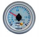 Přídavný budík Raid Silver-Line - tlak turba