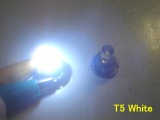 LED palubní deska Neo Wedge T5 xenon bílá