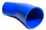 Silikonová hadice HPP redukční koleno 45° 63,5 > 76mm