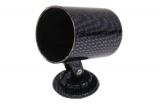 Držiak univerzálny pre 1 prídavný budík 52mm - karbón look