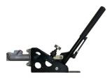 Hydraulická ručná brzda OBP - uhol 45 ° - guľatá s aretáciou (s bŕzd. Valcom a regulátorom)