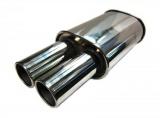 Koncový tlumič výfuku ProRacing MP07 - nerez - 63,5mm