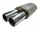 Koncový tlumič výfuku ProRacing MP17 - nerez - 63,5mm