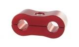 Separátor na vedení - průměr 2x 4,8mm - červený