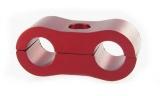 Separátor na vedení - průměr 2x 7,9mm - červený