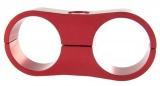 Separátor na vedení - průměr 2x 27mm - červený
