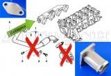 Kit na zaslepení EGR ventilu ProRacing BMW 3-Series E46 318-330d/xd / E90 318d (05-)
