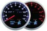 Prídavný budík Depo Racing WA 4in1 - EGT, voltmeter, tlak oleja, teplota oleja