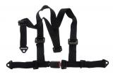 Bezpečnostný pás Pro Sport 3-bodový čierny - 50mm