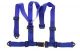Bezpečnostný pás Pro Sport 3-bodový modrý - 50mm